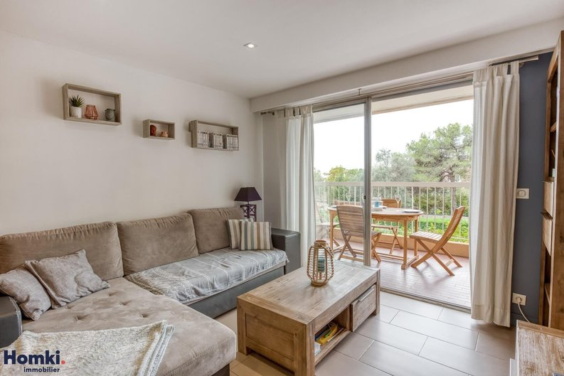 Homki - Vente appartement  de 64.0 m² à Antibes 06600