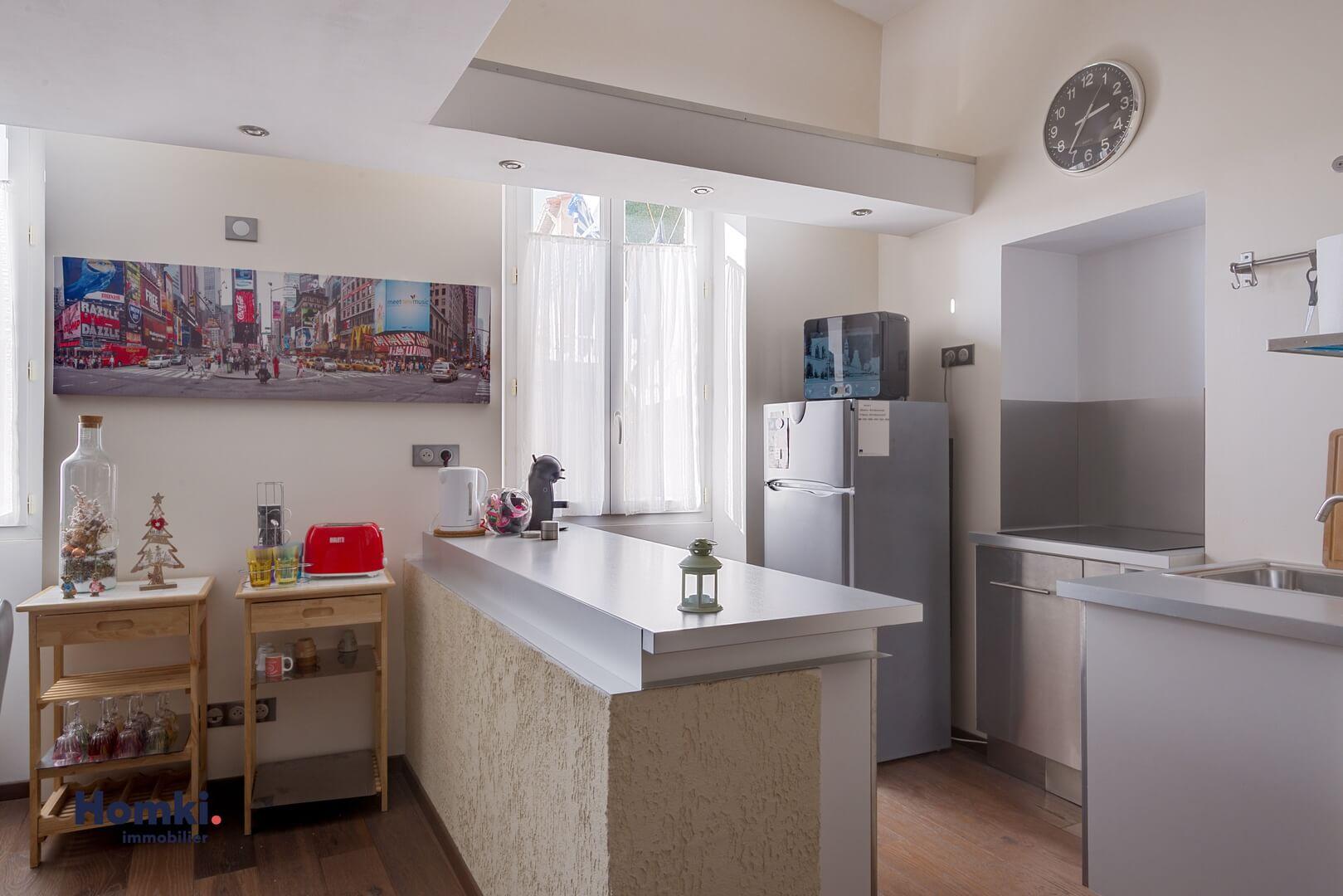 Homki - Vente appartement  de 50.0 m² à Marseille 13007