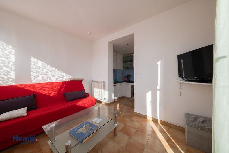 Homki - Vente appartement  de 41.0 m² à Marseille 13003