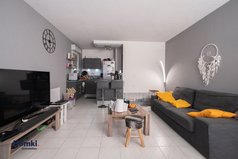 Homki - Vente appartement  de 48.0 m² à Orange 84100