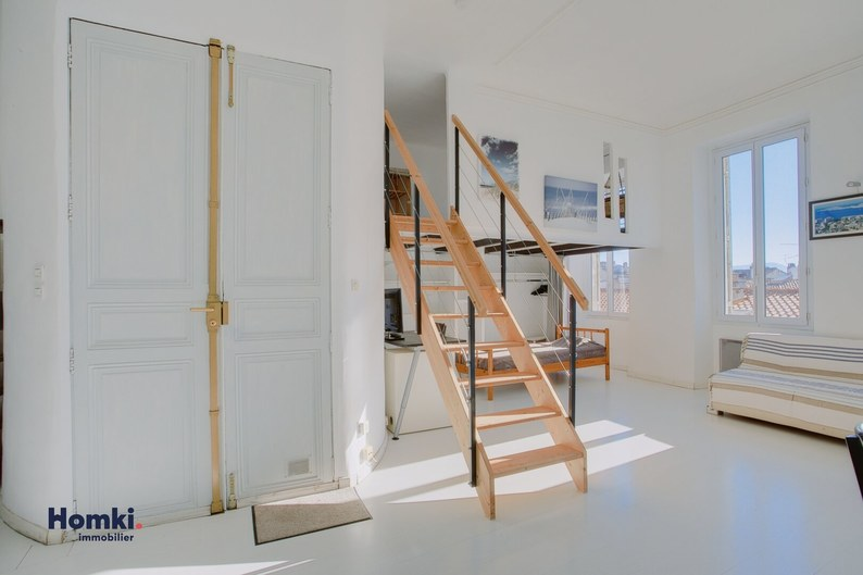 Homki - Vente appartement  de 47.0 m² à Marseille 13006