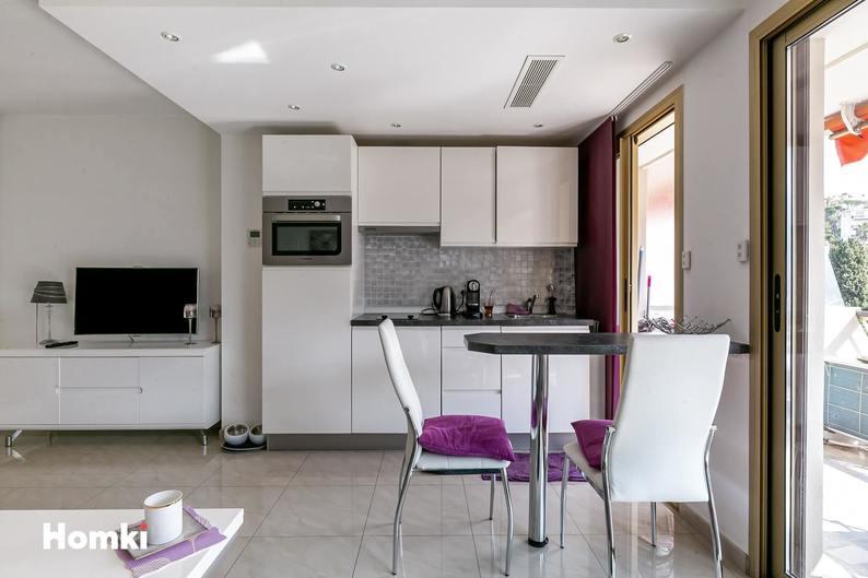 Homki - Vente appartement  de 29.0 m² à Cannes 06400