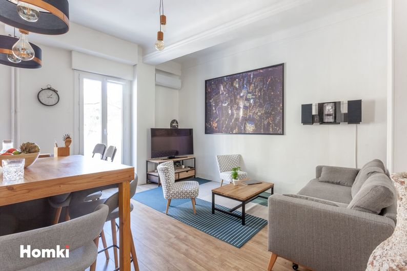 Homki - Vente appartement  de 46.0 m² à Marseille 13007