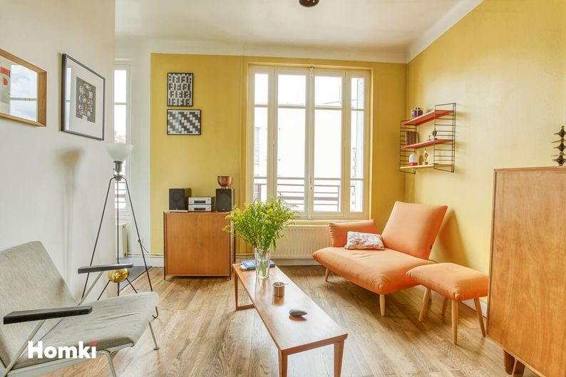 Homki - Vente Appartement  de 85.0 m² à Lyon 69002