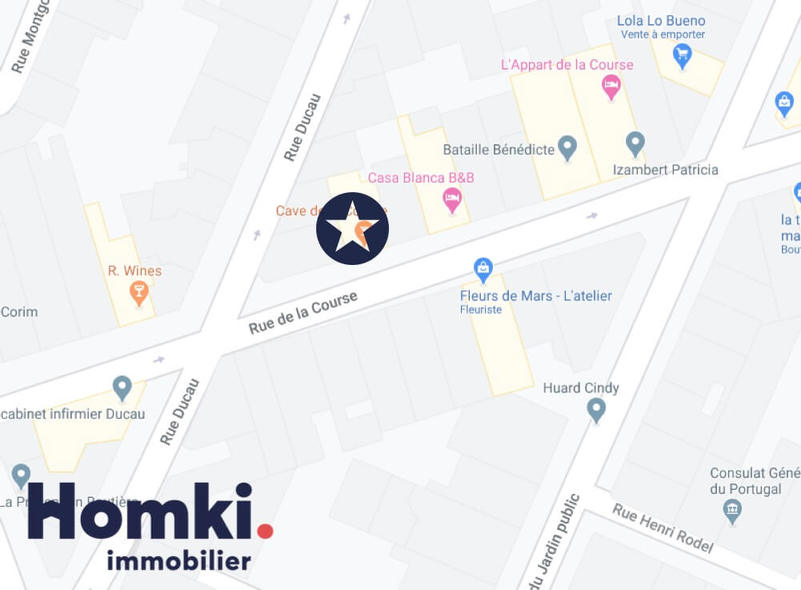 Homki - Vente local commercial  de 80.0 m² à Bordeaux 33000
