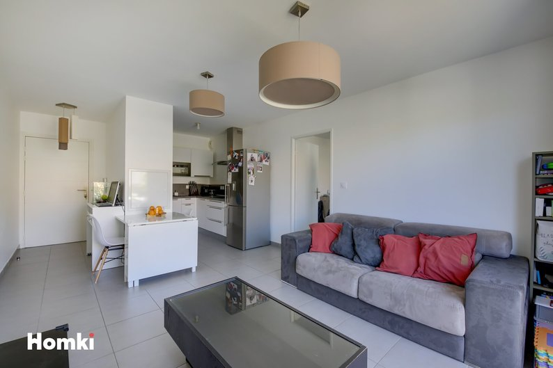 Homki - Vente appartement  de 44.5 m² à Marseille 13013