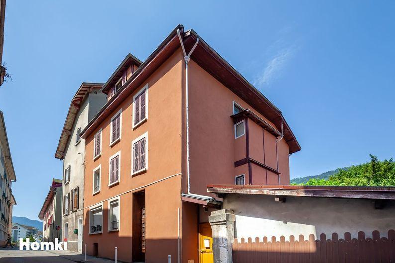 Homki - Vente immeuble  de 300.0 m² à Allevard 38580