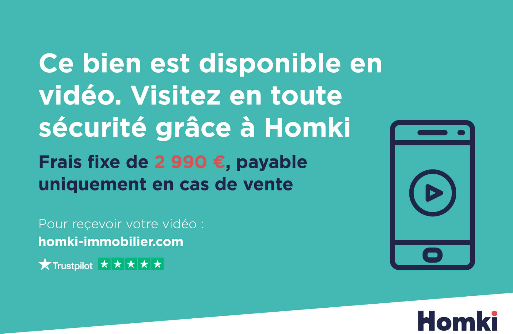 Homki - Vente appartement  de 68.0 m² à Bordeaux 33000