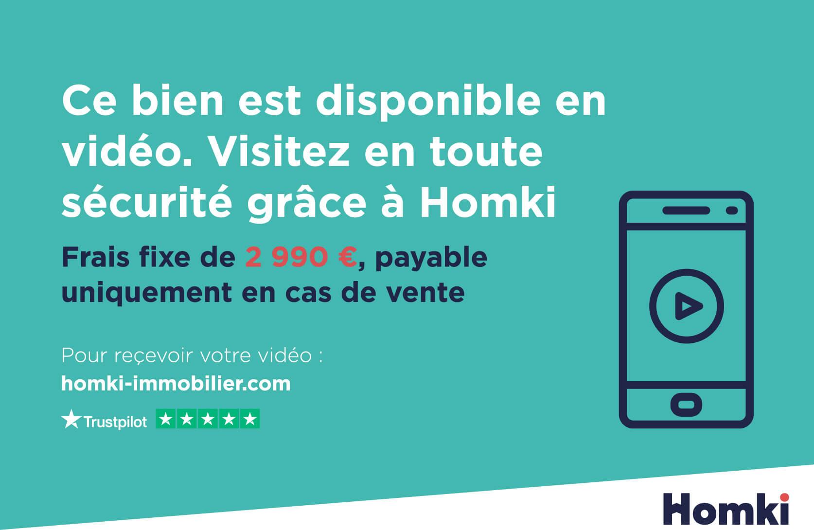 Homki - Vente Appartement  de 50.0 m² à Nice 06300