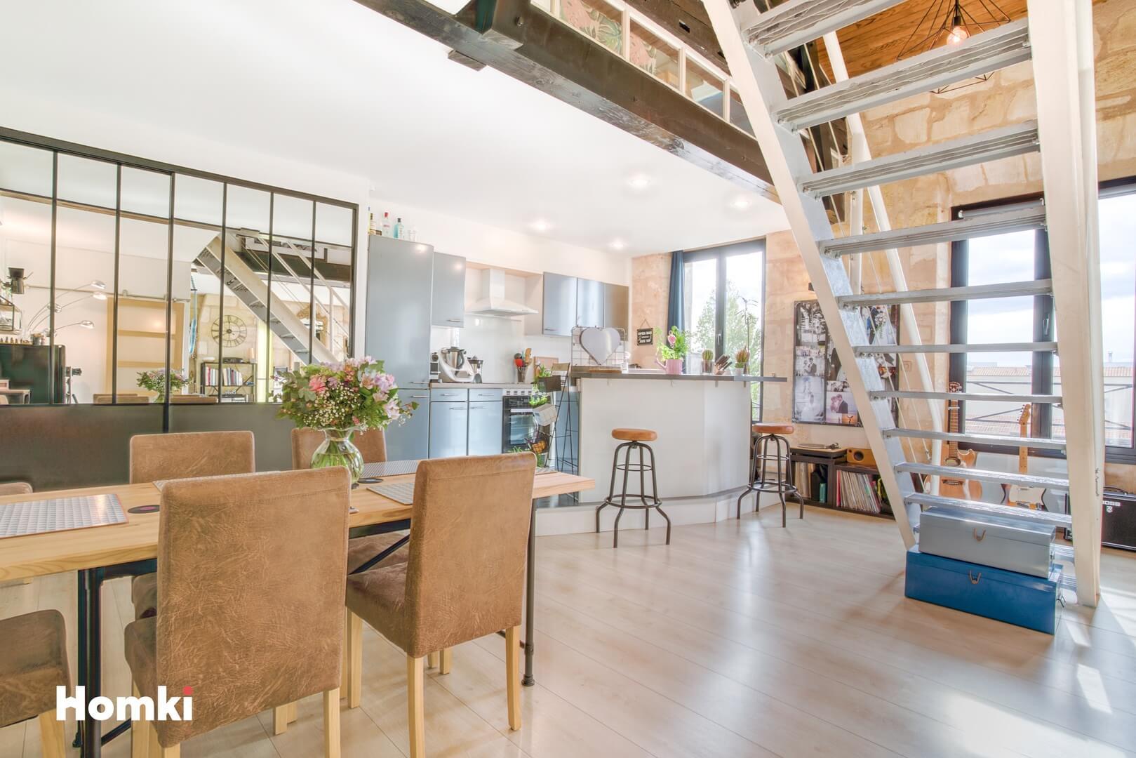 Homki - Vente Appartement  de 78.0 m² à Bordeaux 33300