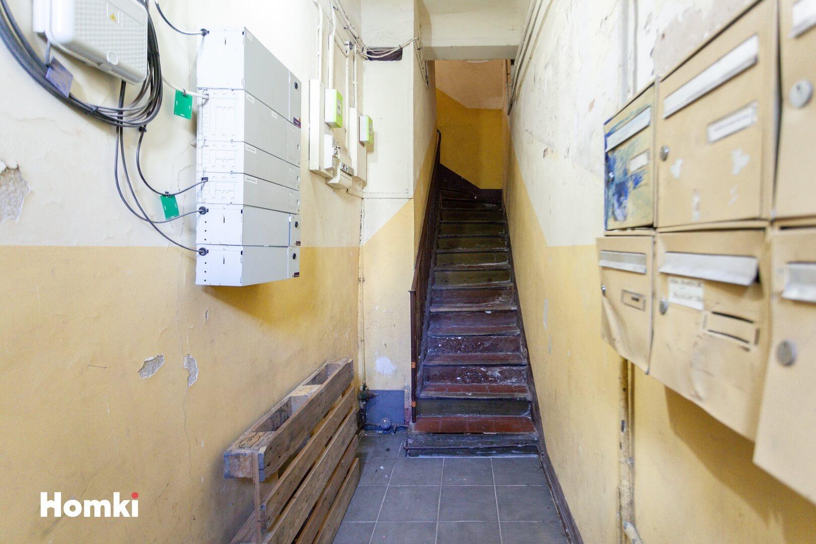 Homki - Vente Appartement  de 11.0 m² à Marseille 13002