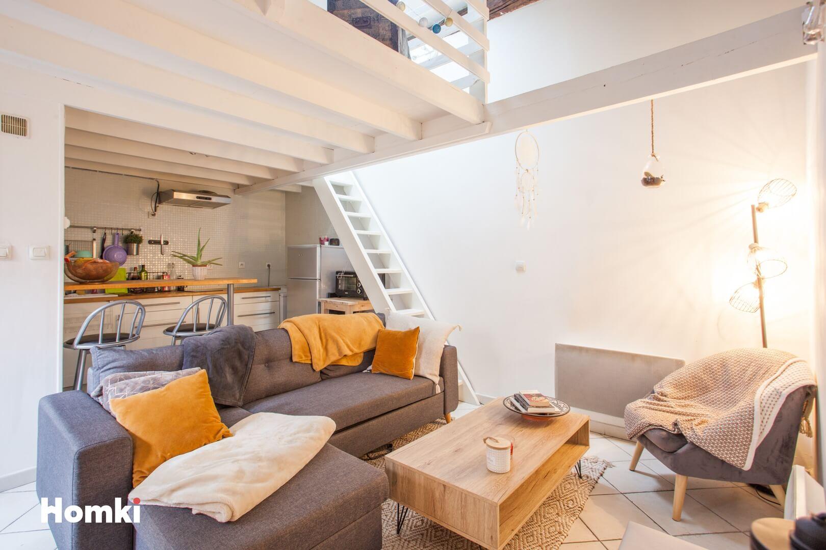 Homki - Vente Appartement  de 42.0 m² à Marseille 13001