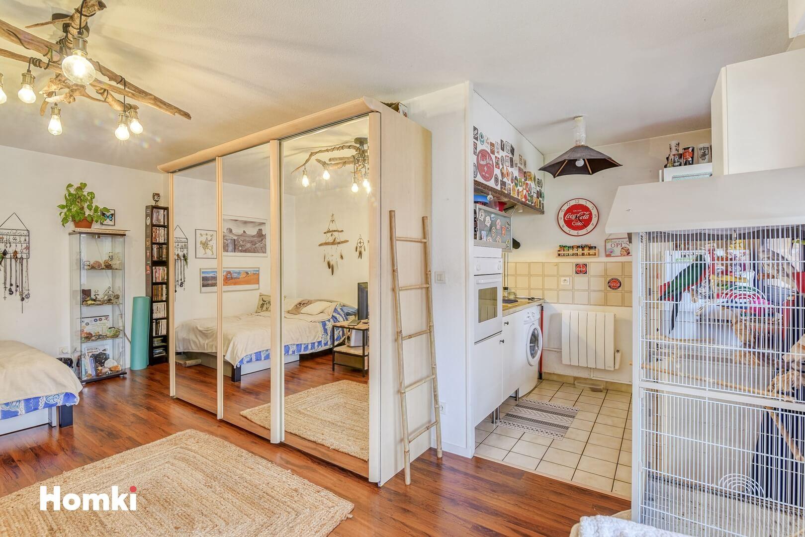 Homki - Vente Appartement  de 32.0 m² à Toulouse 31400