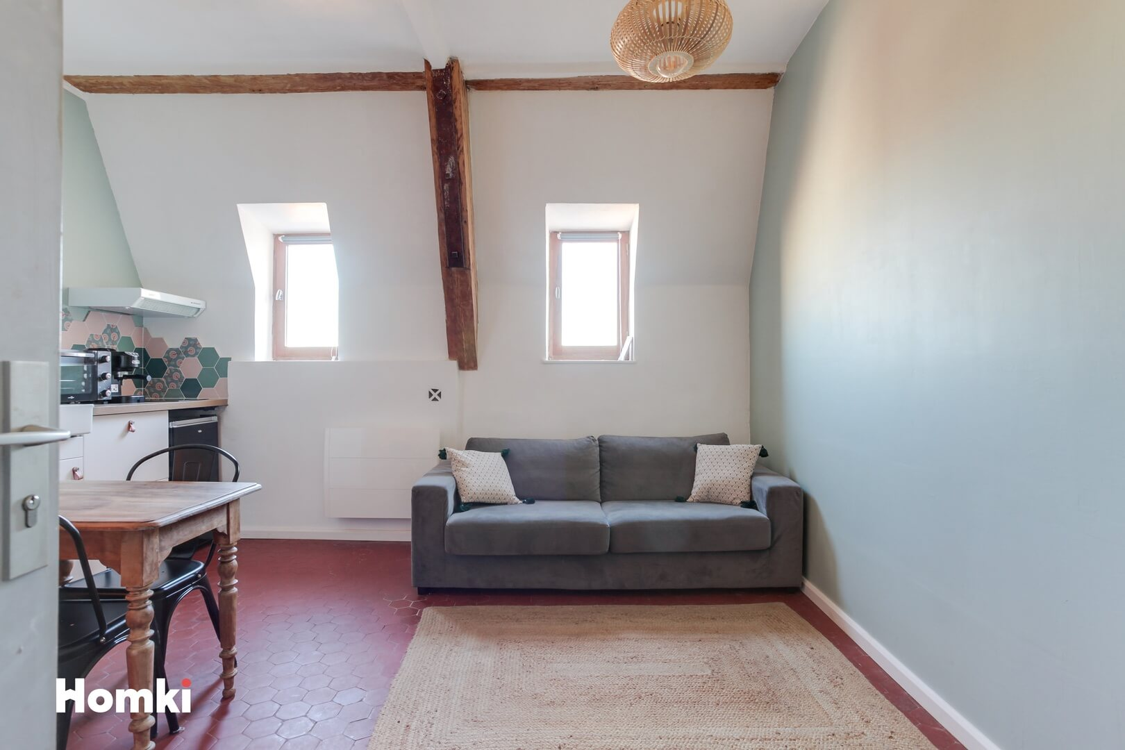 Homki - Vente Appartement  de 17.0 m² à Marseille 13006