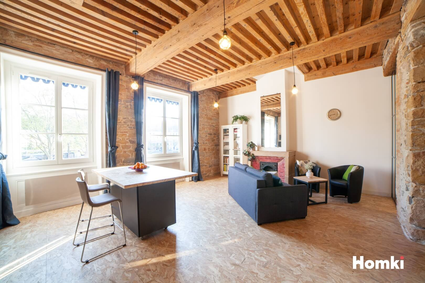 Homki - Vente Appartement  de 85.0 m² à Lyon 69009