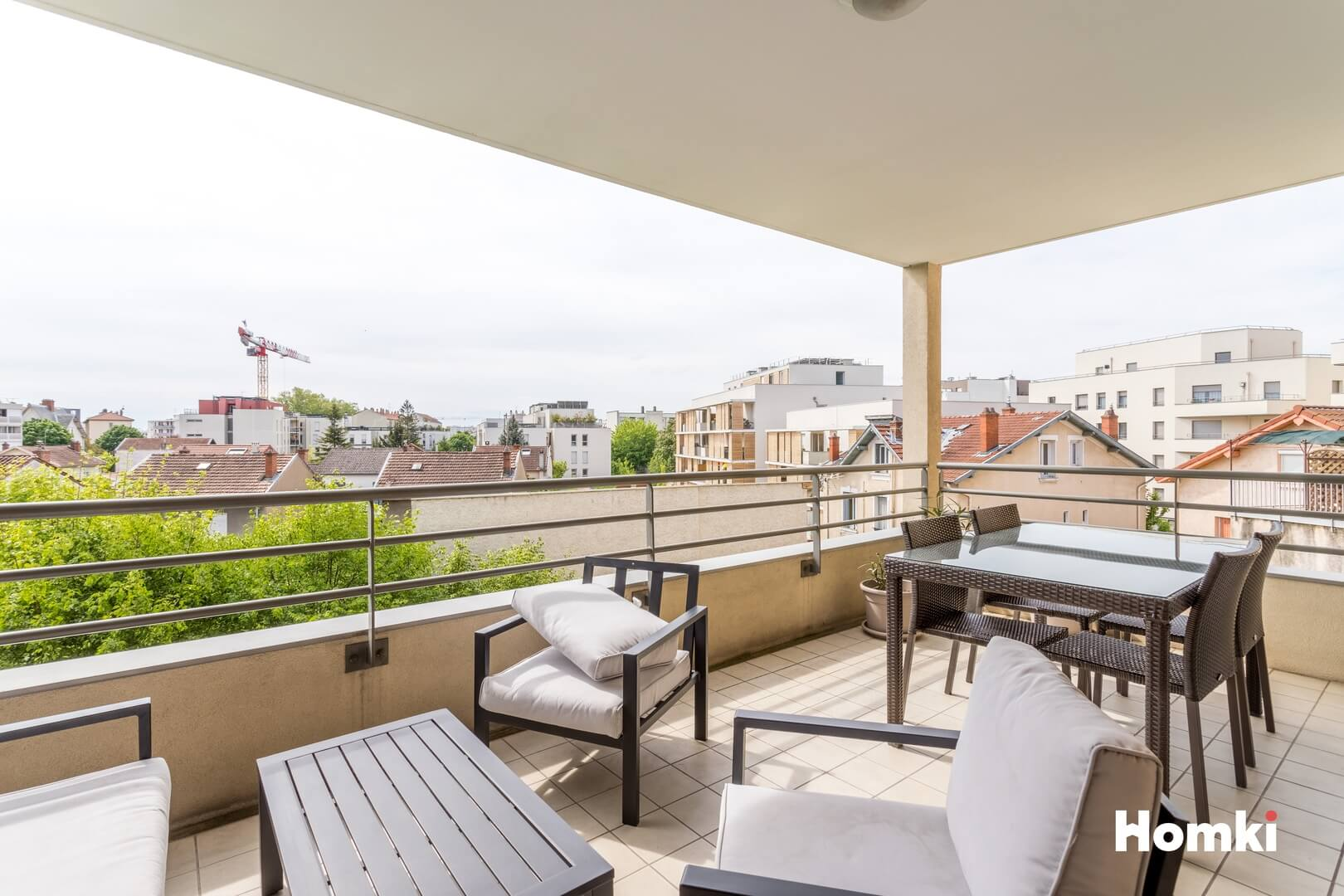Homki - Vente Appartement  de 65.0 m² à Villeurbanne 69100