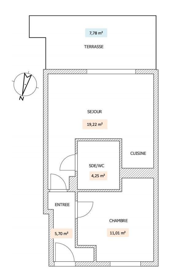 Homki - Vente Appartement  de 40.0 m² à Villeneuve-Loubet 06270