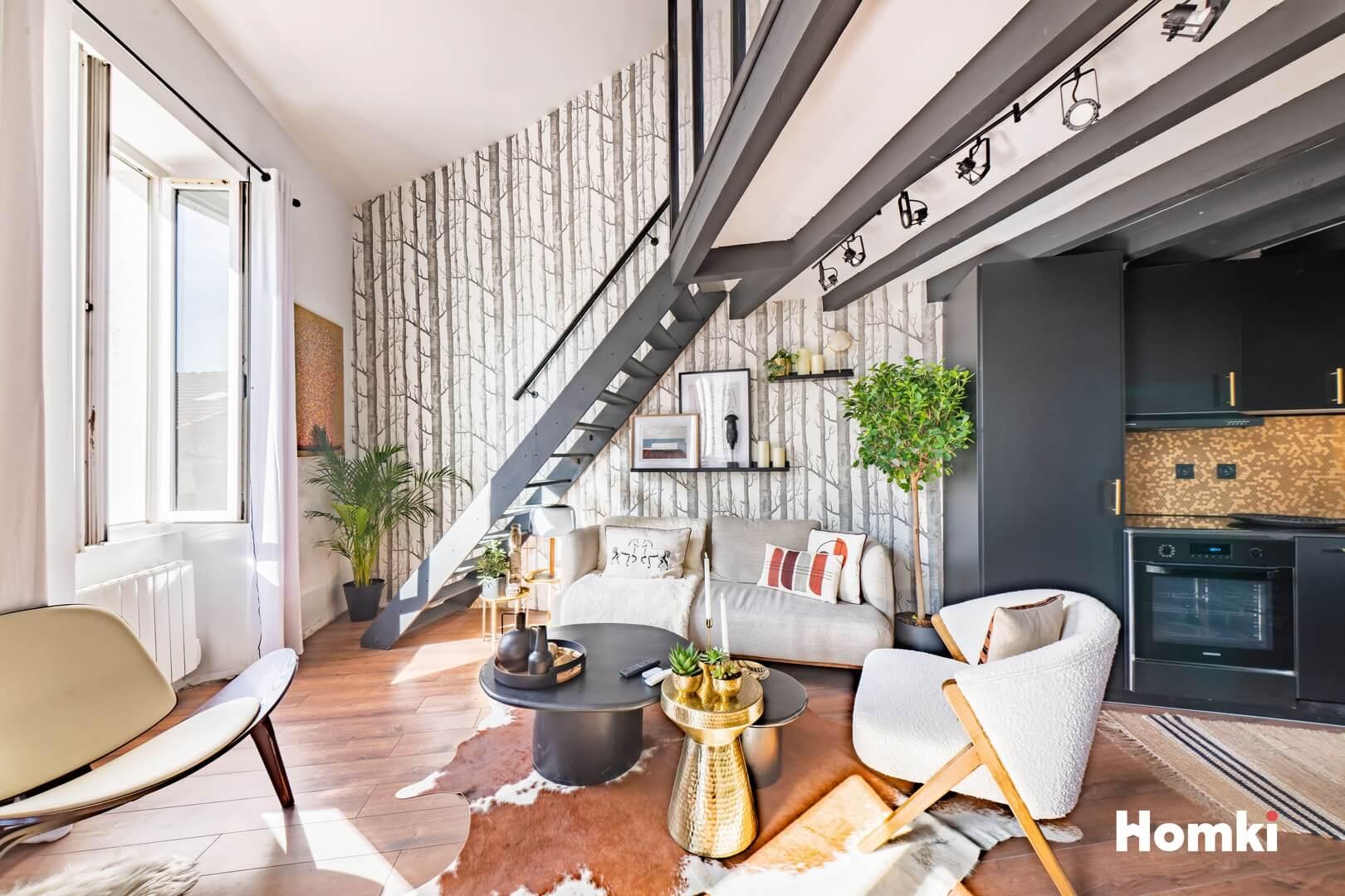 Homki - Vente Appartement  de 55.0 m² à Marseille 13016