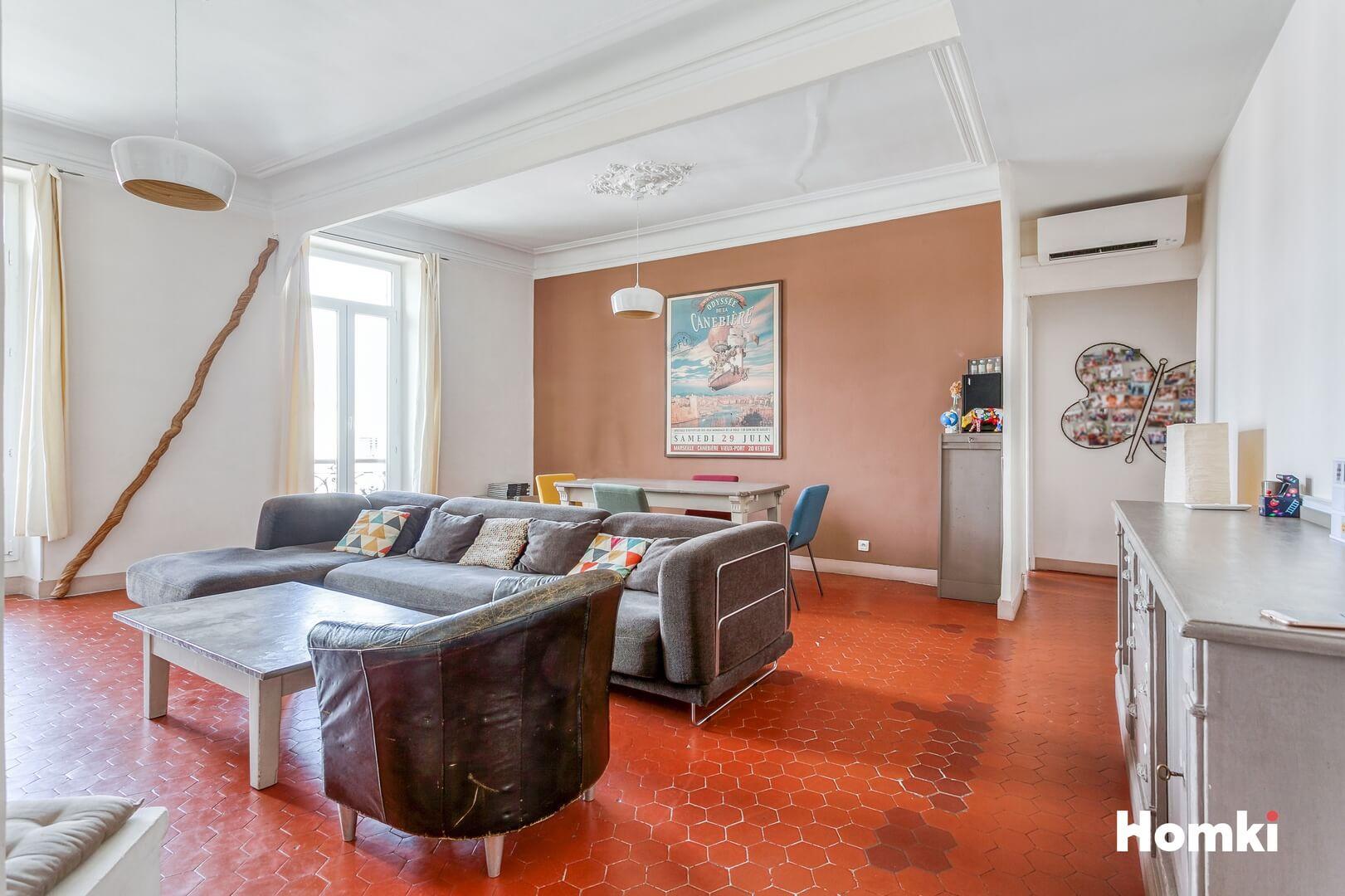 Homki - Vente Appartement  de 93.0 m² à Marseille 13010
