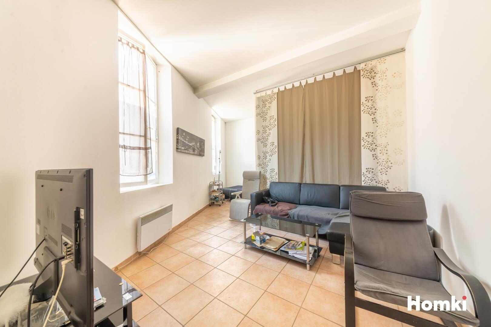 Homki - Vente Appartement  de 38.0 m² à Marseille 13001