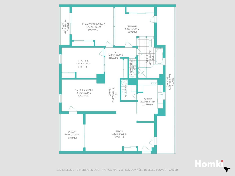 Homki - Vente Appartement  de 136.6 m² à Arles 13200