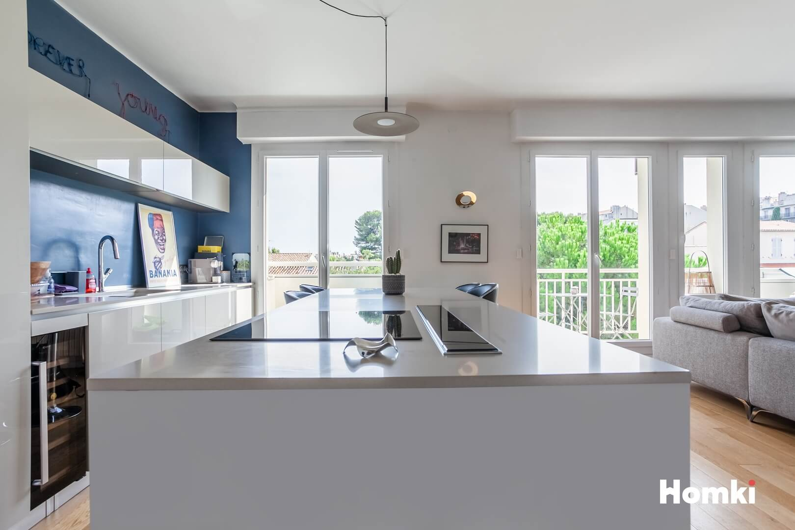 Homki - Vente Appartement  de 83.0 m² à Marseille 13008