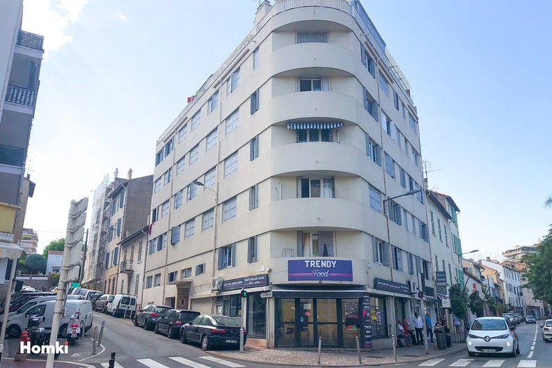Homki - Vente appartement  de 20.63 m² à cannes 06400