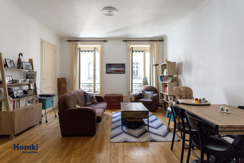 Homki - Vente appartement  de 65.0 m² à Lyon 69009
