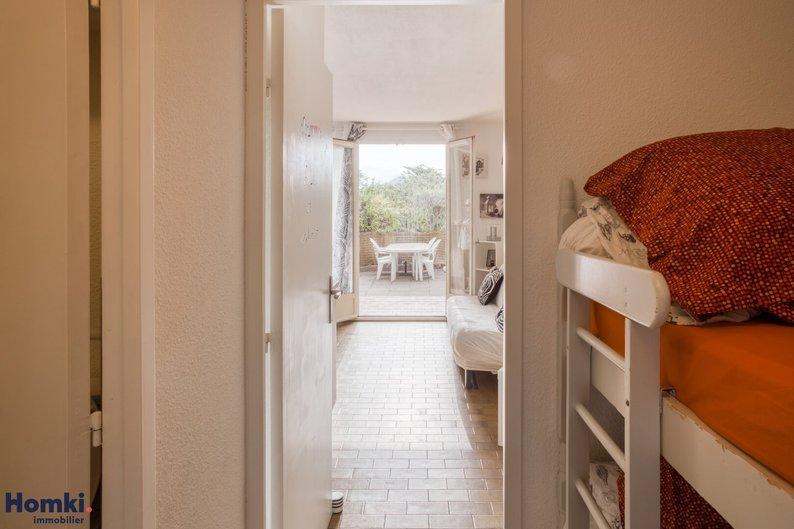 Homki - Vente appartement  de 22.0 m² à saint cyr sur mer 83270