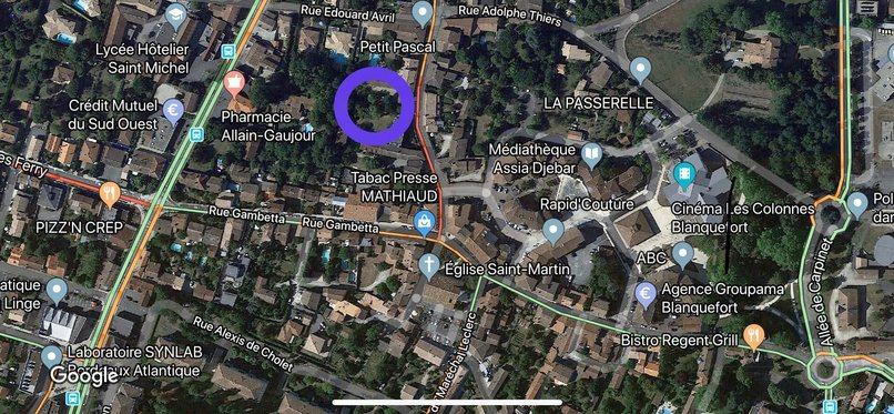 Homki - Vente terrain  de 550.0 m² à Blanquefort 33290